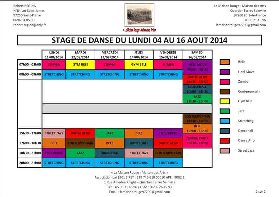 danse_planning
