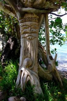 Sculpture kanak - Poindimié
