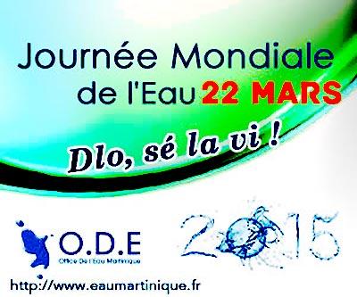 Le programme de la journ e mondiale de l eau du 22 mars 2015 madinin art critiques culturelles - Office internationale de l eau ...