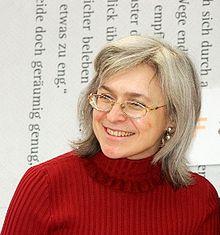 A. Politkovskaïa en 2005