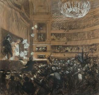 Albert Besnard - la Bataille d'Hernani (1830)