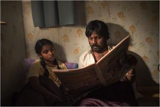 Claudine Vinasithamby (Illayaal) et Antonythasan Jesuthasan (Dheepan)