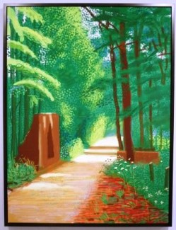 David Hockney - L'Arrivée du printemps à Woldgate (2011)
