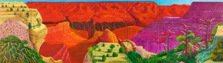 David Hockney - The Grand Canyon (1998)