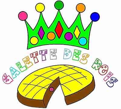 Epiphanie pourquoi mange t on de la galette des rois ce - Dessins galette des rois ...