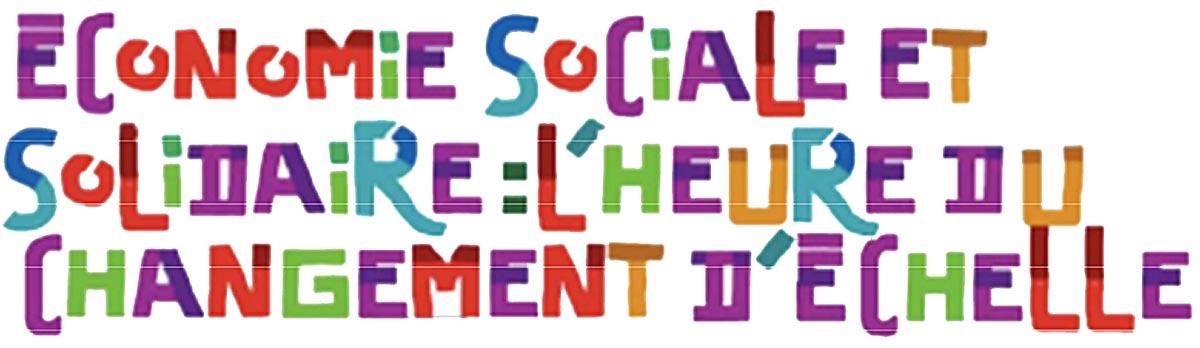 L conomie sociale et solidaire base d un nouveau mod le - Chambre de l economie sociale et solidaire ...