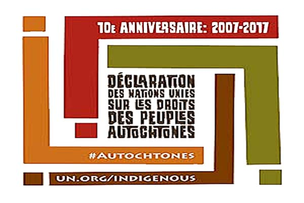 Dixi me anniversaire de la d claration des nations unies sur les droits des peuples autochtones - Declaration porte fort heritier ...