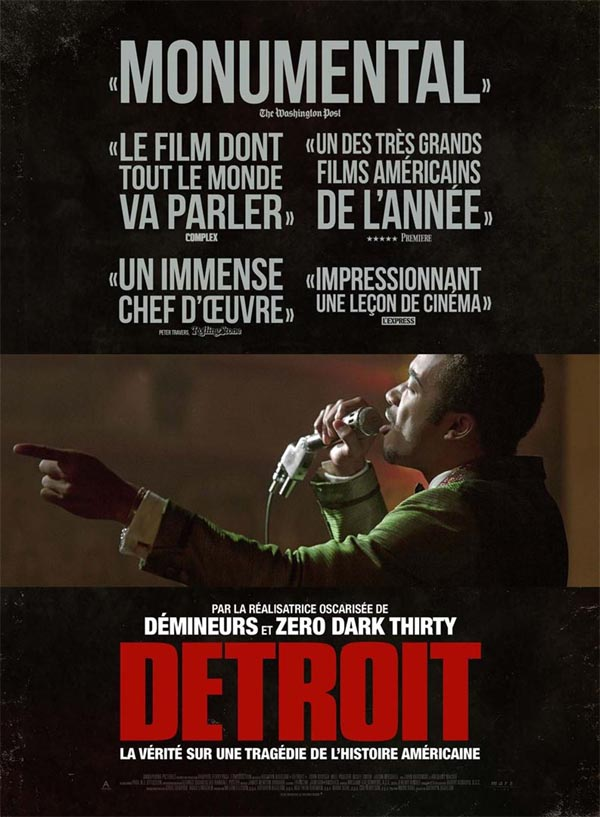 » Detroit » », un film de Kathryn Bigelow