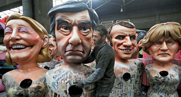 Christian Salmon. « L'homo-politicus est en voie de carnavalisation(...)