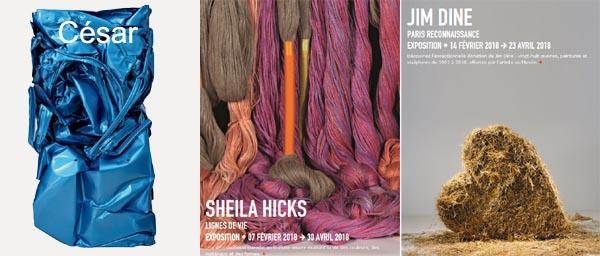 Un petit tour au Centre Pompidou : rétrospective César, Sheila Hicks, Jim(...)