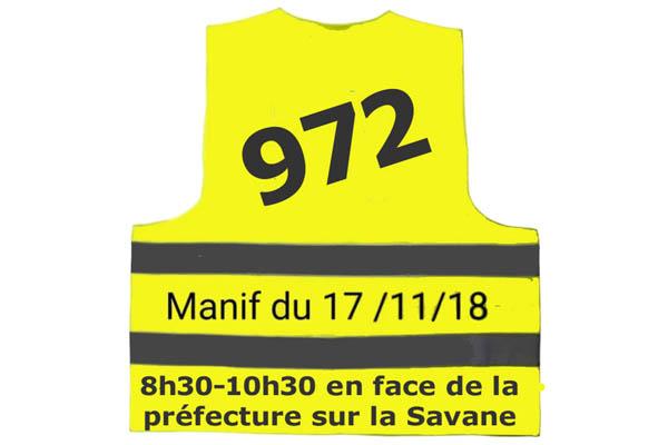 Gilets jaunes : 17 novembre 8h30-10h30 en face de la préfecture sur la(...)